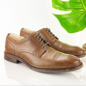 Cole Haan Cap Toe Oxford British Tan Leather